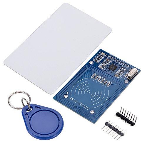 Amazon.com - MFRC522 RFID Reader Module + S50 Blank Card + Keychain