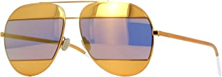 New Christian Dior SPLIT 1 1VT/SQ Yellow Gold/Multi Layer Gold Sunglasses