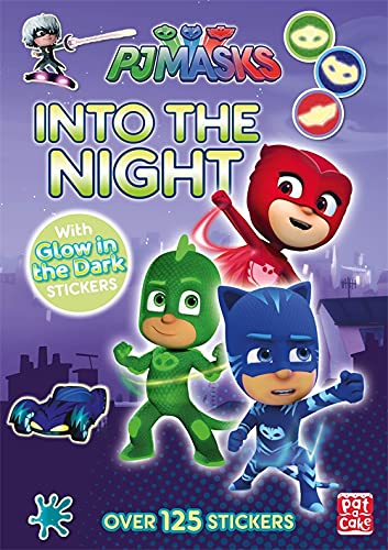 Into the Night: Glow-in-the-dark sticker book