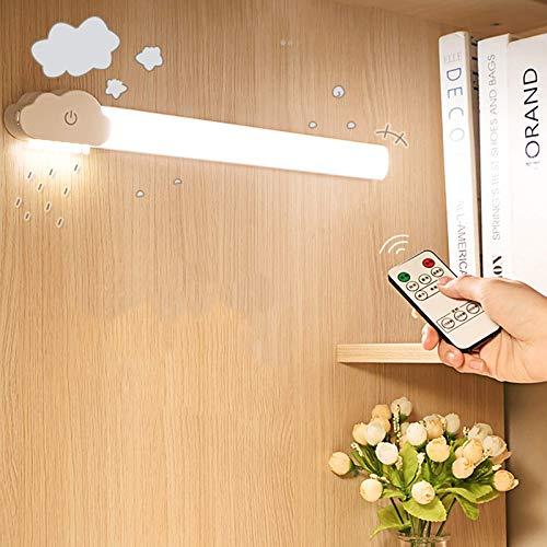 BBGSFDC Barra de luz de Contador dimmable, LED de Aprendizaje de Estudiante Luz de instalación magnética Lámpara de cabecera USB para Dormitorio, Dormitorio, retrovisor, Modelo de Control Remoto