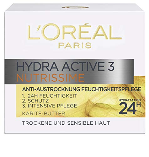 L\'Oréal Paris Dermo Expertise Hydra Active 3 Nutrissime Tag, 50ml