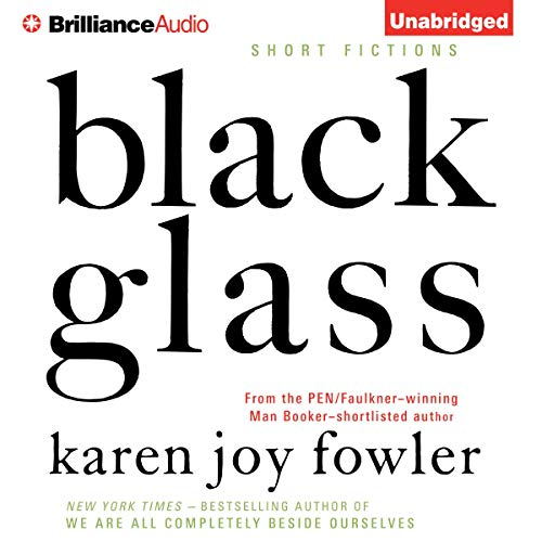Black Glass audiobook cover art