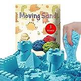 CROSOFMI Arena Magica Niños Super Cinética Color Sand Playa Juegos para Niños Chico Chica Mayores de 3 Años(Azul)