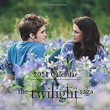 "Twilight Saga: 2021 Wall Calendar - Mini Calendar, 7""x7"", 12 Months"