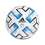 adidas MLS Nativo XXV League Soccer Ball White/Samba Blue/Solar Green/Black 4