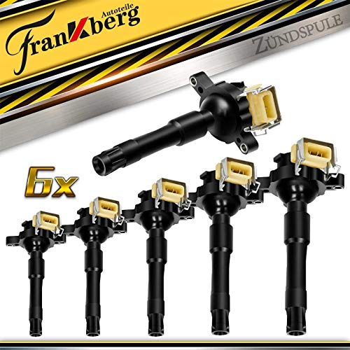 6x Zündspule Zündmodul für 3er 5er 7er E36 E39 E46 8er Z3 Z8 R ange R over III ZS ZT 75 1995-2005 12131703228