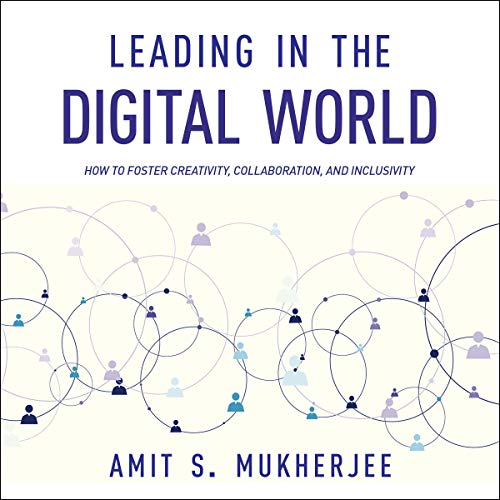 Leading in the Digital World audiobook cover art