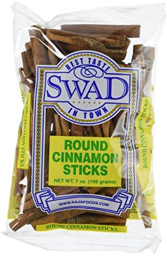 Great Bazaar Swad Round Cinnamon Stick, 7 Ounce