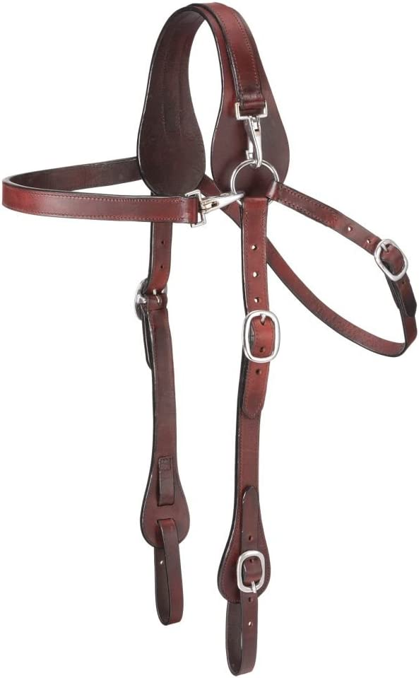 supreme Tough-1 Leather Mule Browband NEW before selling Headstall