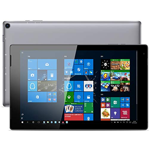 YONIS Tablette Tactile Windows 10 Quad Core 1.92Ghz 4GB+64GB 10.1 Pouces WiFi Bluetooth HDMI