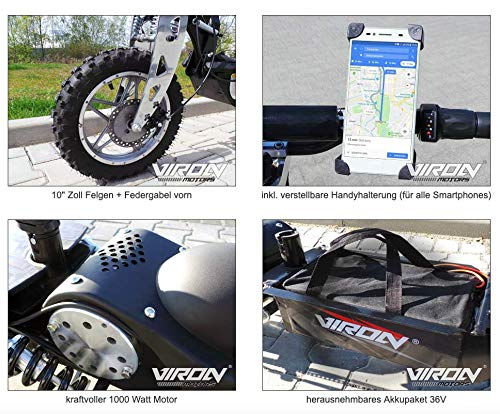 Viron Elektro Scooter (1000 W) - 5