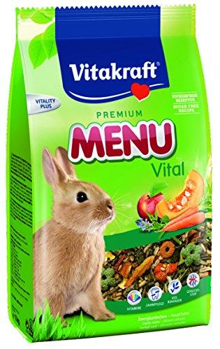Vitakraft Menu Vital Frische für Zwergkaninchen, 2,5 kg