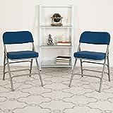 Flash Furniture HERCULES Premium Cushioned Metal Folding Chair