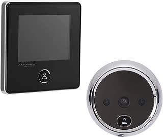 NAIERDI 3.0 Inch Digital Door Viewer, 120 Degree Peephole Camera, IR Night Vision Peephole Viewer Doorbell Security Door Viewers for Home Safe