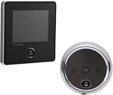 NAIERDI 3.0 Inch Digital Door Viewer, 120 Degree Peephole Camera, IR Night Vision Peephole Viewer Doorbell Security Door View