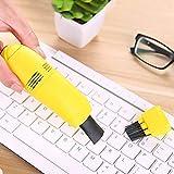 Mini aspiradora, limpiador de teclado, USB, limpieza de teclado para PC, portátil, cepillo de polvo, juego de limpieza