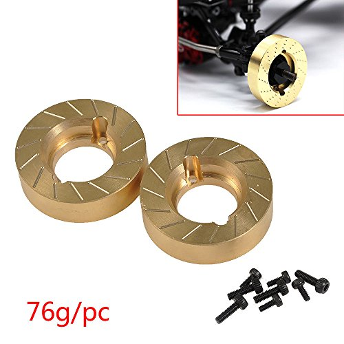 Benedict Harry Heavy Brass Wheel Knuckle Fitfor 1/10 RC Crawler Car Axial SCX10-II 90046 Upgrade Parts