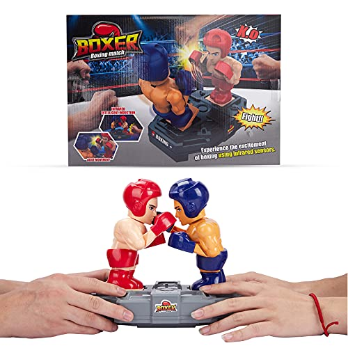 Fighting Robots Toy,Remote Control, Infrared Induction,Real Boxing Fight Experience,Hand Gesture Smart, Boxing Games for Kids Indoor Outdoor Travel