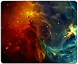 Gaming Mouse Pad,Cool Galaxy Mouse Pad Non-Slip Rubber Base Mouse Pads for Computers Laptop Office, 9.5'x7.9'x0.12' Inch( 240mm x 200mm x 3mm)