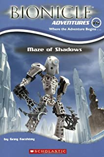 Maze of Shadows (Bionicle Adventures #6)