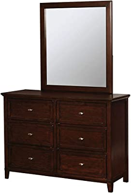William's Home Furnishing Brogan Dressers, Brown