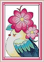 刺繍スターターキット スタンプクロスステッチキット 初心者DIY刺繍 (複数のパターンデザイン) Maydear 180903