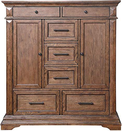 New Classic Furniture Mar Vista Door Chest, Walnut