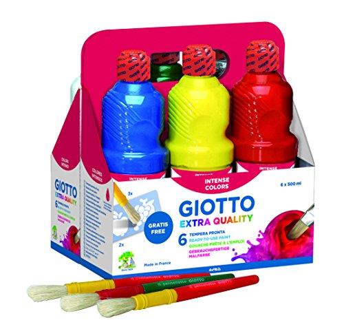 Giotto 533200–6Flaschen 500ml Paint