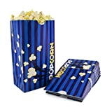 Snappy Popcorn Flat Bottom Theater Popcorn Bags, 85 Ounce, 100 Count
