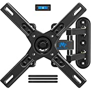 Mounting Dream TV Wall Mount Bracket for Most 17-39 Inches LED, LCD TVs with Articulating Arm, Full Motion Mount with Tilt and Swivel for Max VESA 200x200mm and 33 LBS Loading MD2462