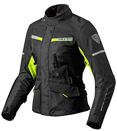 Revit Jacke Outback 2 Damen, Farbe schwarz-Neongelb, Größe 42