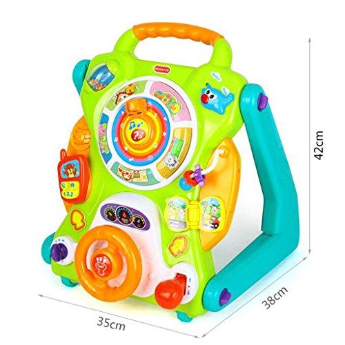 HAIZHEN ABS Multifunctionele Baby Walker Speelgoed Kind Trolley 7-18 Maanden Jongens/Meisjes Walker 35 * 38 * 42cm voor pasgeboren