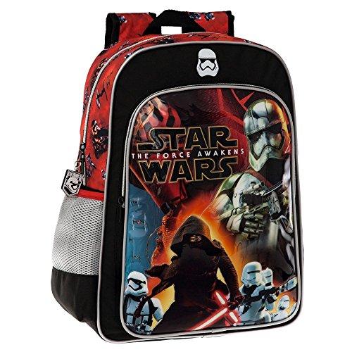 Disney Star Wars Battle Set de Sac Scolaire, 40 cm, Noir 25923A1
