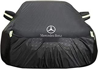 Autoabdeckung Mercedes Benz E Klasse 2 Türer Coupe Car Cover Spezielle Car Plane Car Cover Rainproof Sonnencreme Verdickung Isolierung Car Cover (Farbe : SCHWARZ)
