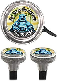 Clean Motion Buddha Capperz Valve Stem Caps and Bell