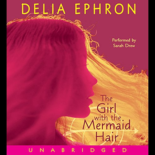 The Girl with the Mermaid Hair audiobook cover art