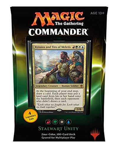 Wizards of the Coast MTG Commander 2016 Stalwart Unity Deck