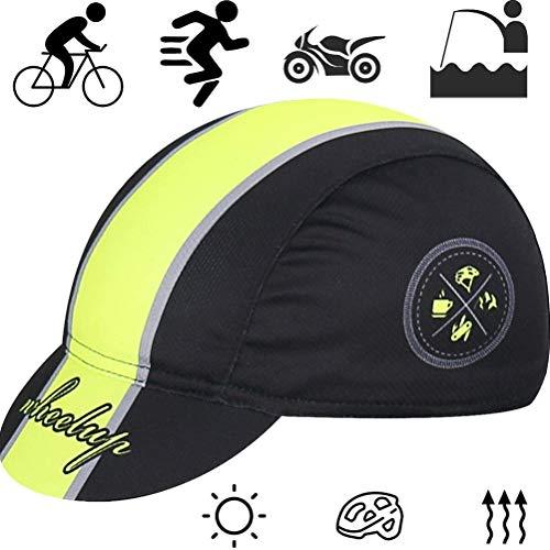 NEWMAN771Her Retro Fahrradkappe Rennrad mit Sonnenschutz Fahrradkappe Fahrrad Fahrradkappe Helm Unterhelm Hut Fahrradzubehör
