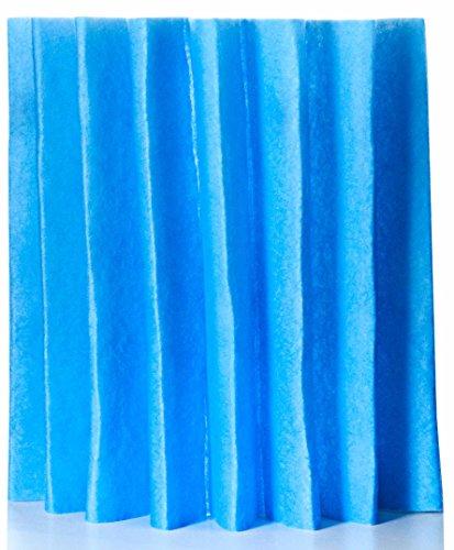 Gefaltete Filtermatte von Fischer Luftfilter W140/9x585 verwendbar z.B. für Schrag Filterzelle/Hauslüftungsgerät Filterklasse G4 // 1 Stück