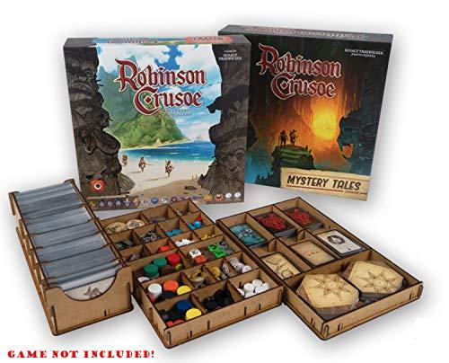 docsmagic.de Organizer Insert for Robinson Crusoe 2nd Edition Box - Einsatz