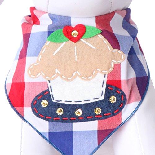 Schwanz Trends Hund Halstücher für 4. Juli Independence Day–100% Baumwolle, Medium, Cutie Pie