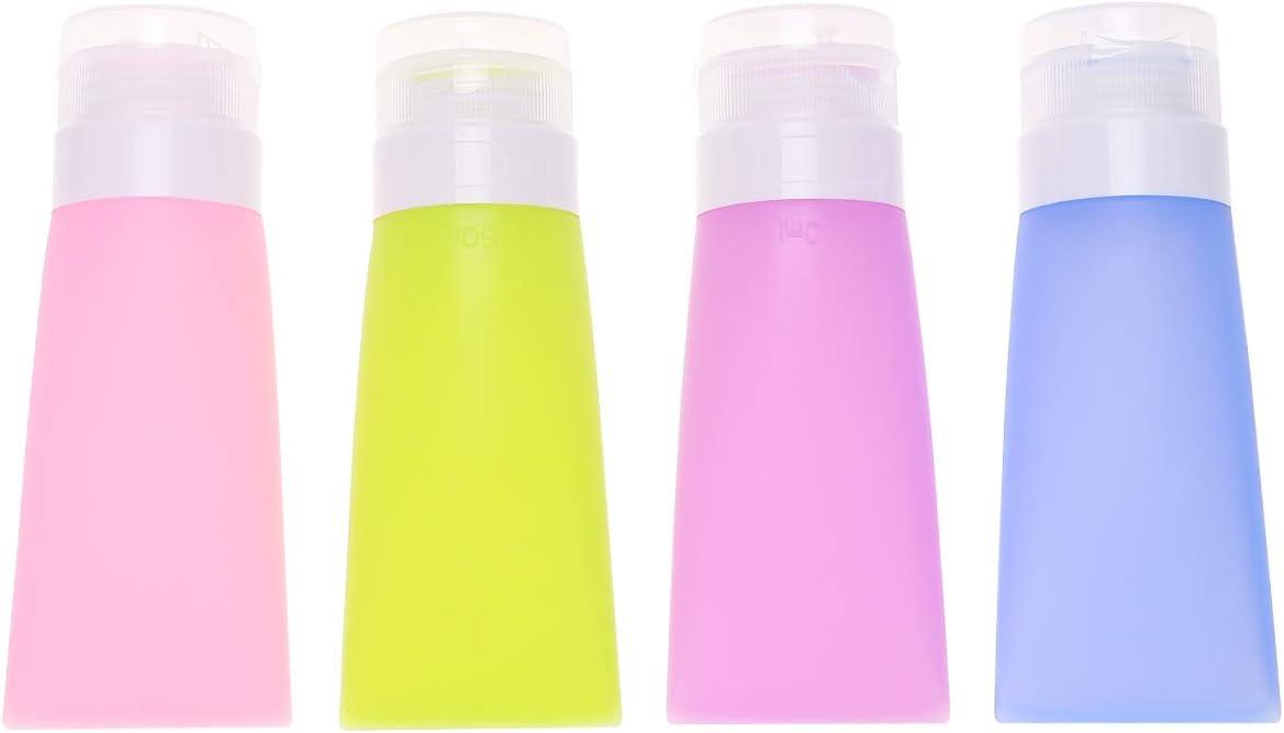 Ranking TOP20 DOITOOL Popular brand Dropper Bottles for Essential Empty Oils 60ml Silic 4pcs