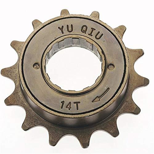 AYGANG FreewheelFreewheel Bicicleta de una Sola Velocidad Velocidad del piñón del Engranaje MetalCycling Piezas de la Bici Cassette de piñones 349