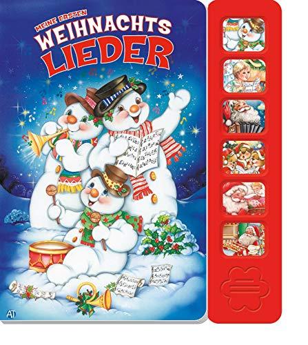 Trötsch Soundbuch Meine ersten Weihnachtslieder: Liederbuch Weihnachtsbuch Geräuschebuch