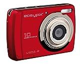 Easypix V1016 Pi Fotocamera Digitale 16Mp Rossa