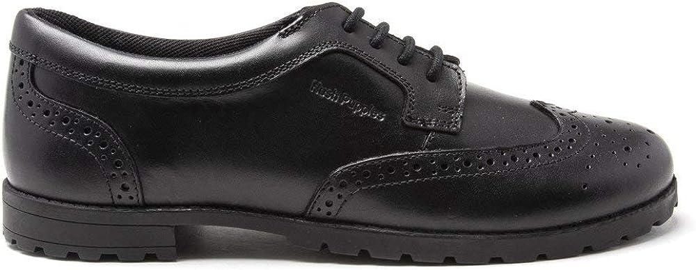Hush Puppies Boys Gibson Flats Shoes Black