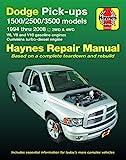 Haynes Dodge Pick-ups 1500/ 2500 / 3500 Models 1994 Thru 2008 Automotive Repair Manual: 2wd & 4wd: V6, V8 and V10 Gasoline Engines - Cummins Turbo-diesel Engine