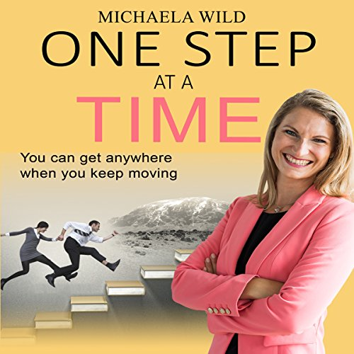 One Step at a Time audiobook cover art