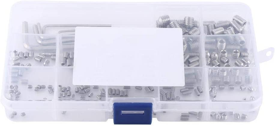 XIDUO 240pcs M3 M4 M5 A surprise price is realized Special price M6 M8 Socket Kit Hex Set Assortment Screws