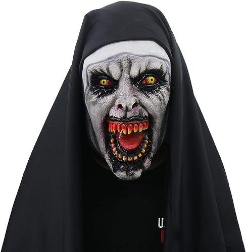 tienda en linea Circlefly Halloween de Miedo Monja máscara Thriller Thriller Thriller Cara Broma máscara de mujer de Fiesta  almacén al por mayor